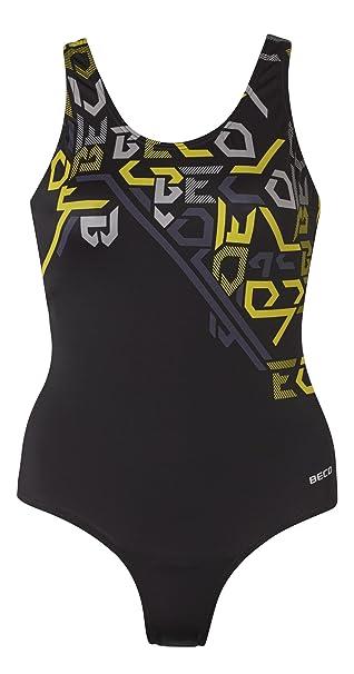4d8dfe3415e9 Beco Damen Schwimmanzug Aqua  Amazon.de  Sport   Freizeit