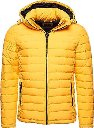 Superdry Hooded Fuji Jacket Chaqueta Acolchada para Hombre