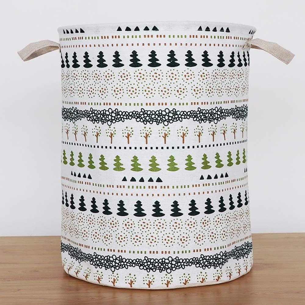 Folding Clothing Storage Bucket Clothes Toys Organizer Cactus MODOAO Waterproof Foldable Laundry Hamper Dirty Clothes Laundry Basket