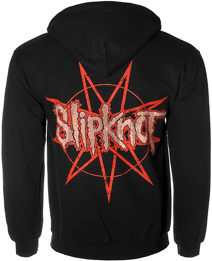 Slipknot, 5 The Gray Chapter Hoodie [Black] Schwarz