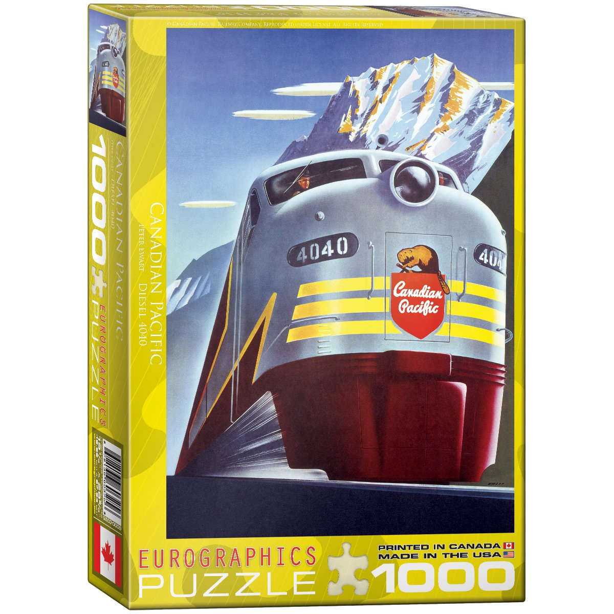 Eurographics Diesel 4040 by Peter Ewart Puzzle (1000 Pieces) 6000-0325