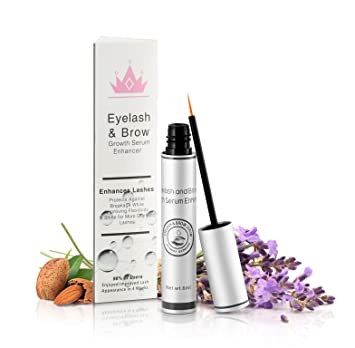 85c3c44d02a Natural Eyelash & Brow Growth Serum Booster Gives You Longer Natural  Thicker Looking Eyelashes & Eyebrows