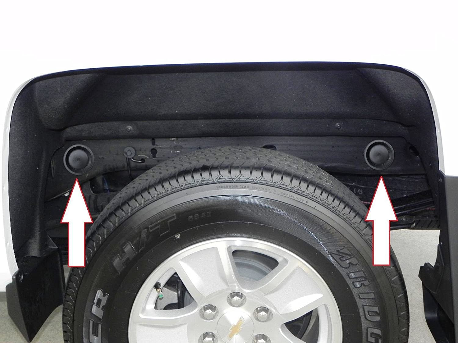 Silverado 2003 chevy silverado 1500 accessories : Amazon.com: Upper Bound Frame Tube Hole Plugs for Chevrolet ...