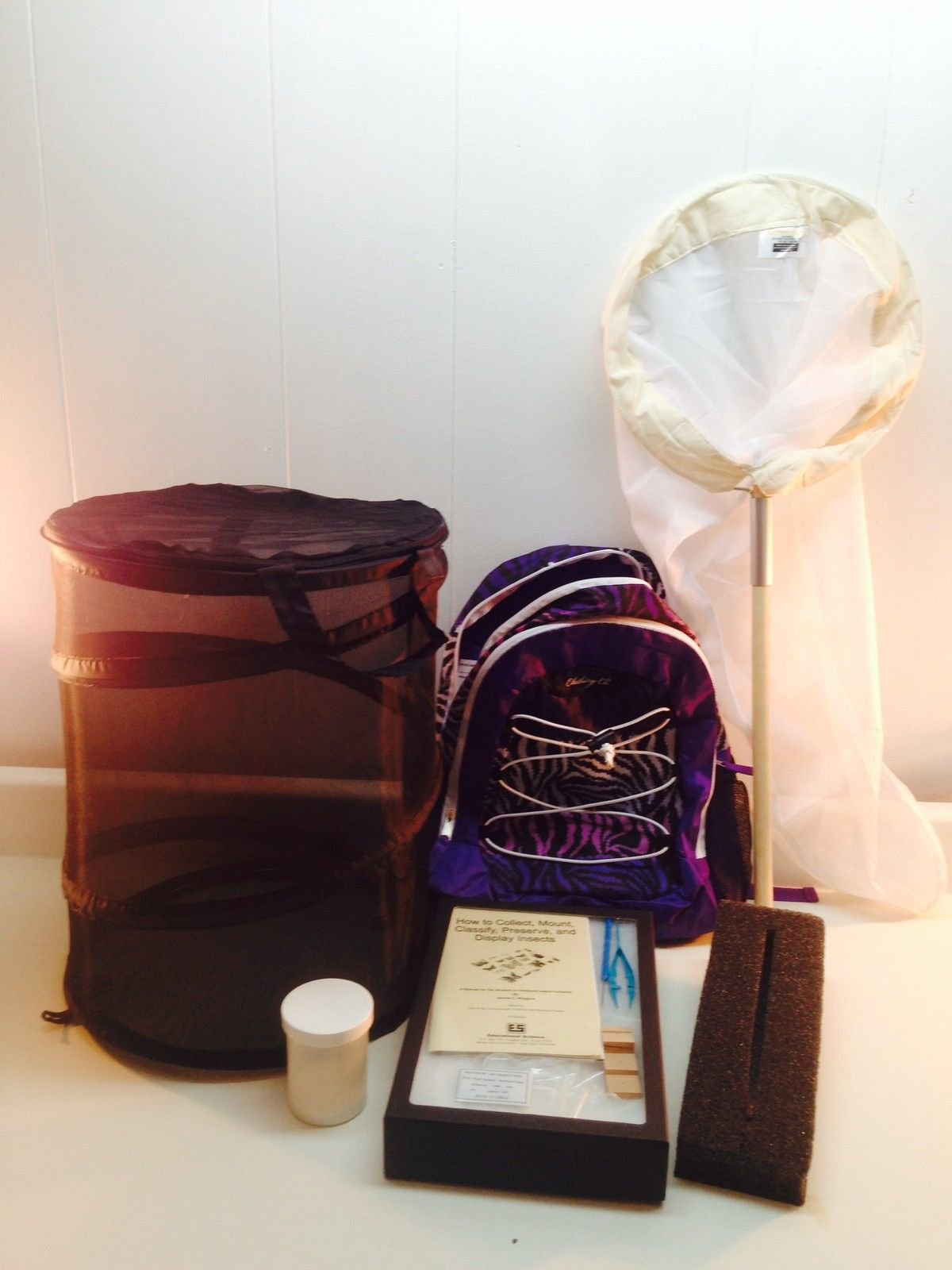 Educational Science Field Backpack Insect Collecting Kit BPK201