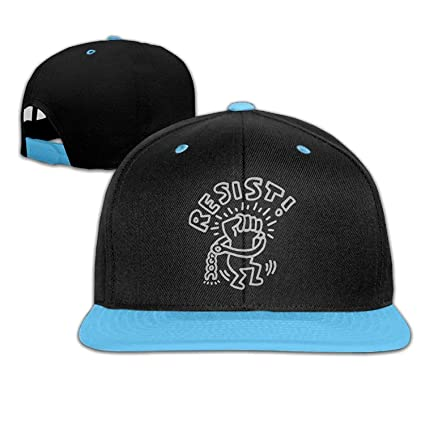 Amazon.com   Childrens Girls Keith Haring Resist Baseball Cap Hats ... 96ceab7d4c9