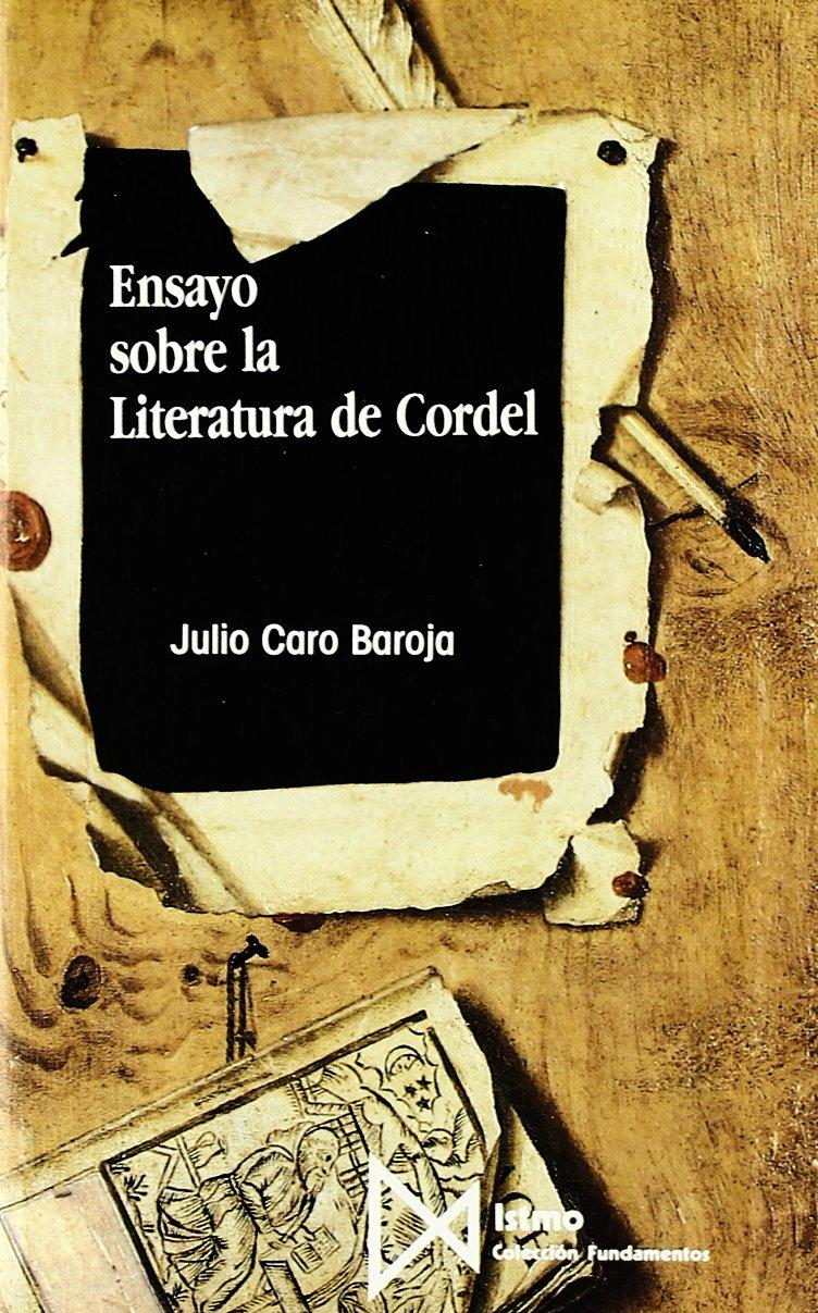 Ensayo Sobre Literatura De Cordel  Fundamentos Band 109