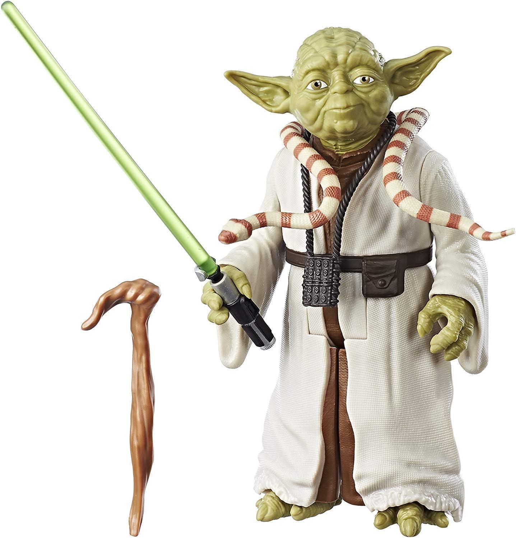 Figura de Yoda, Star Wars El Imperio Contraataca 30 cm