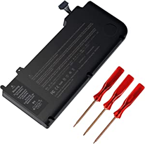 BND A1322 Laptop Battery Replacement for Mac Book Pro 13 inch A1278(Mid 2009, Mid 2010, Early and Late 2011, Mid 2012 Version),fit MB990LL/A MB991LL/A MC374LL/Al MC724LL/A MD314LL/A MD101LL/A