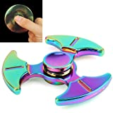 Amazon Price History for:Rainbow Fidget Spinner, KAMOTA Mental Rainbow Hand Spinner High Speed Metal Tri-Spinner Hand Toy for Adults & Kids help Anti-Anxiety Focusing Quitting Bad Habits