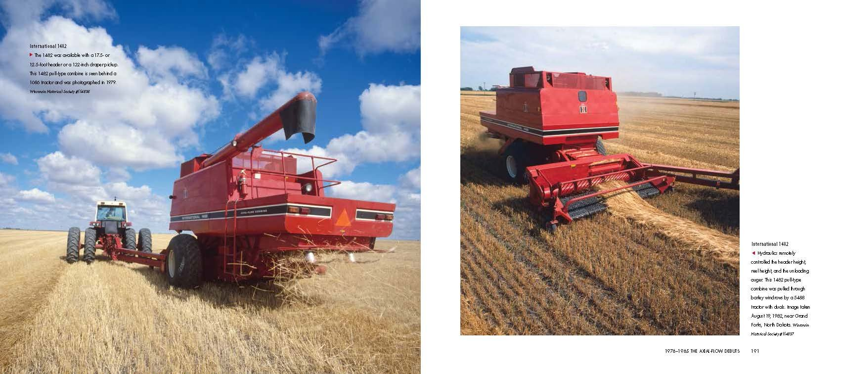 Red Combines 1915-2015: The Authoritative Guide to International Harvester and Case IH Combines and Harvesting Equipment by Octane Press LLC (Image #7)