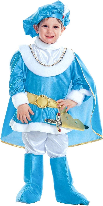WIDMANN - Disfraz de princesa y príncipes para niños, multicolor, 116 cm/4 – 5 años, 36915