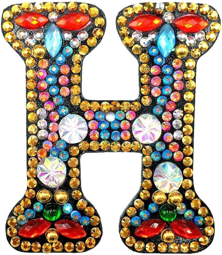 5D Diamond Painting Mosaic Making Kits DIY Key Chain Diamond Painting Letters Women Bag Keyring Pendant Gift J