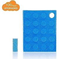 100-Pack of Premium Nasal Aspirator Hygiene Filters, Replacement for NoseFrida Nasal Aspirator Filters, BPA, Phthalate & Latex-Free