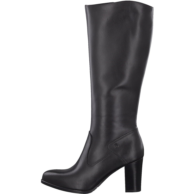 Tamaris Tamaris Tamaris Damen Stiefel 25570-31,Frauen Stiefel,Lederstiefel,Reißverschluss,Blockabsatz 8cm a61fec