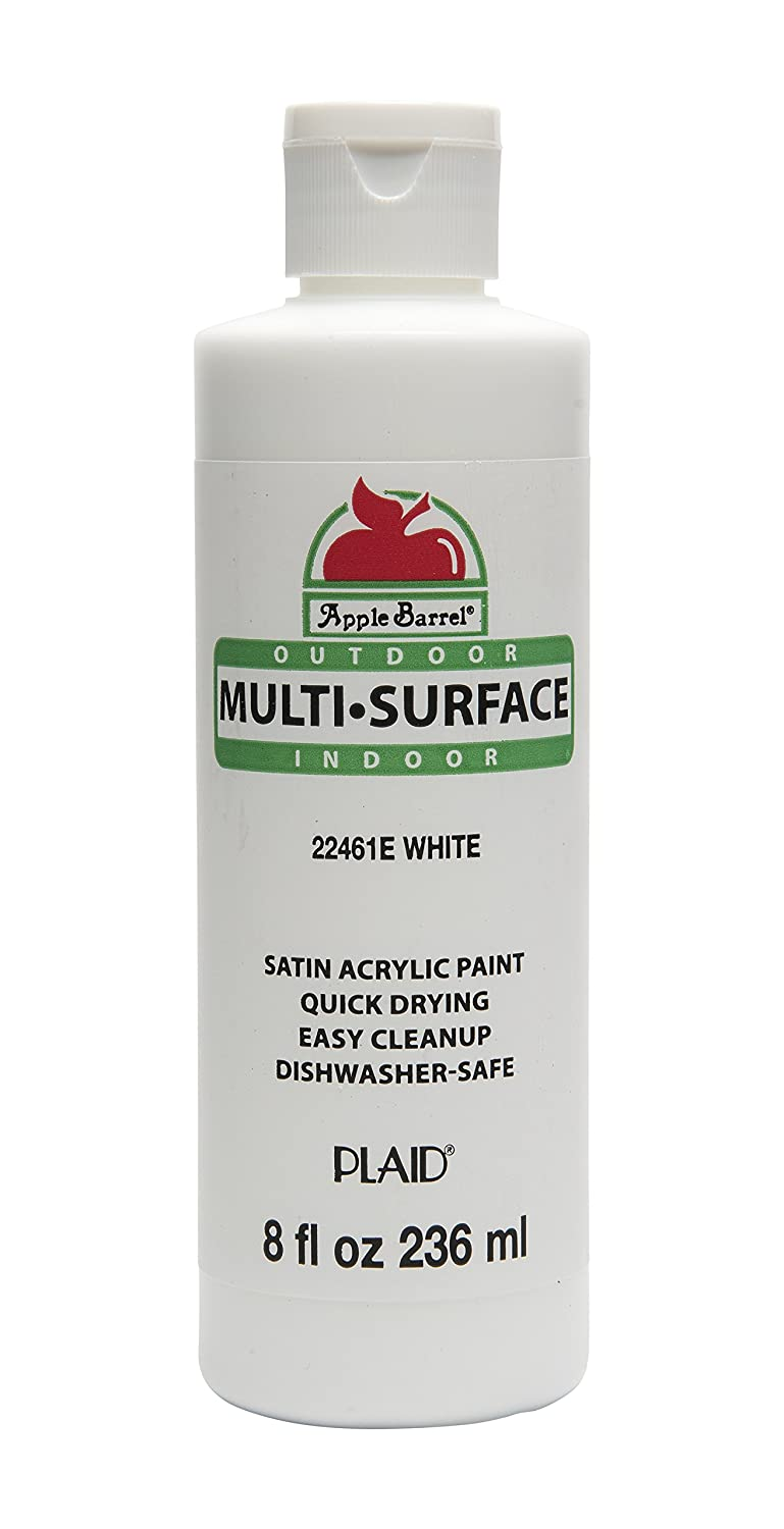 Apple Barrel Multi-Surface Paint - White