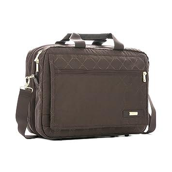 Amazon.com   VÉLEZ 19932 Women Leather Business Briefcase   Maletín De Cuero Mujer Coffee   Briefcases