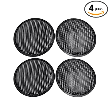 uxcell 4pcs 6 Inch Black Plastic Car Audio Woofer Subwoofer Mesh Cover Protective Grill