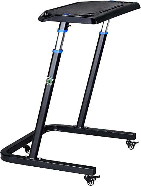 Portable Fitness Desk Adjustable Height Workstation For Bikes Or Standing Work And Cycle Indoors On Laptop Or Tablet By Rad Cycle Products Amazon Ca Sports Outdoors