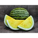 Watermelon Yellow Seeds Rare Janosik Yanosik Vegetable for Planting Giant Non GMO 10 Seeds