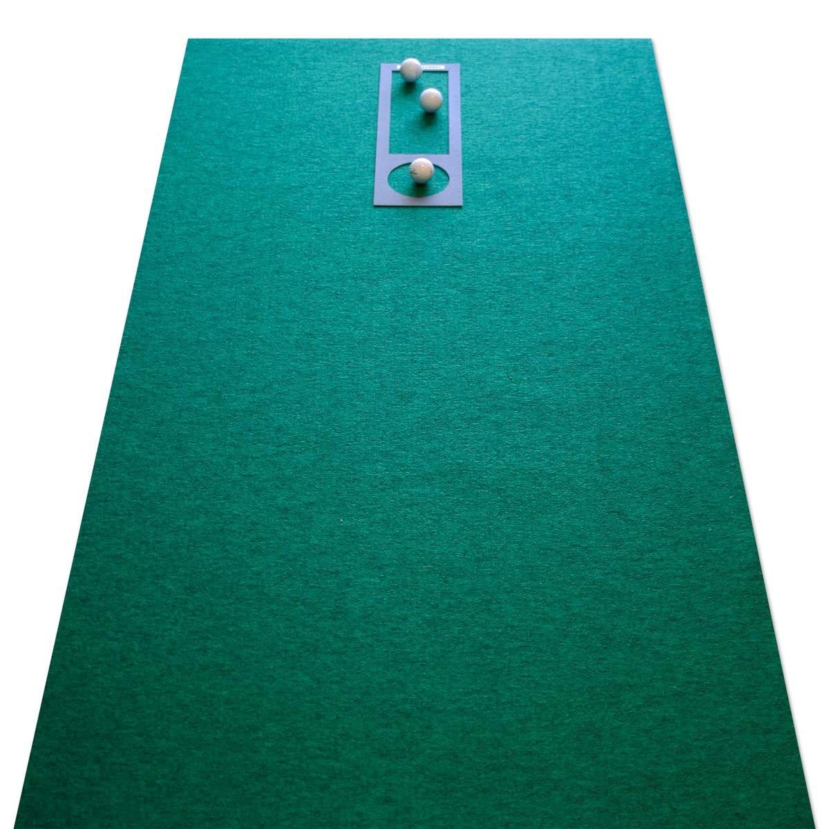 ゴルフを愛する方のための【高速高品質パターマットを廊下敷きカーペットに】[自宅のパット練習場]EXPERT 90cm×5mタイプ(練習用具2種付き) B00FTOI3B0