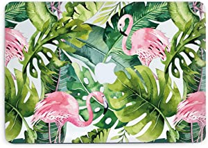 Tropical Leaves Pink Flamingos Hard Cover for Air 11 A1370 1465 Laptop Plastic Case Printed Case with Design