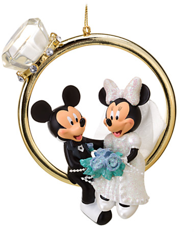 Minnie and Mickey Mouse Ornament | Disney Store