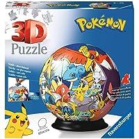 Ravensburger 3D Puzzle 11785 - Puzzle-Ball Pokémon - 72 Teile - Puzzle-Ball für Pokémon Fans ab 6 Jahren: Erlebe Puzzeln…