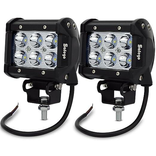 17 opinioni per Safego C18W-BH-SP-2 Faro da Lavoro Luce Barra Luminosa LED Fendinebbia Fanalino