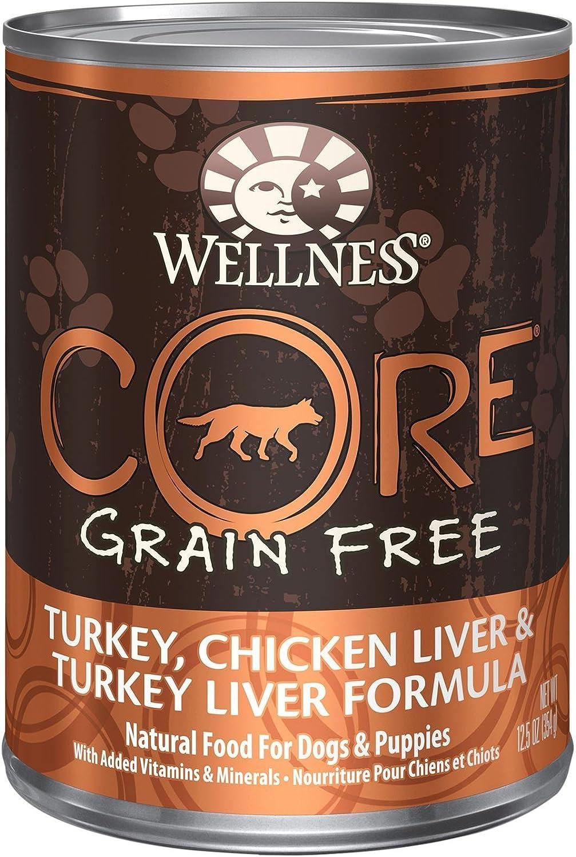 Wellness Core Grain Free – Turkey, Chicken Liver Turkey Liver – 12 X 12.5 Oz