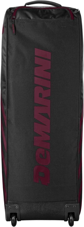 Maroon Demarini Momentum Wheeled Bag 2.0 Series