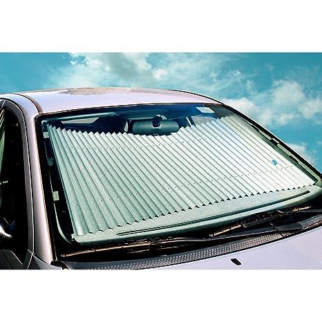 Amazon.com  Dash Designs 23 inch Universal Fit Retractable Auto Windshield  Sunshade for Ford F-150 Trucks 7bfb4436a7e