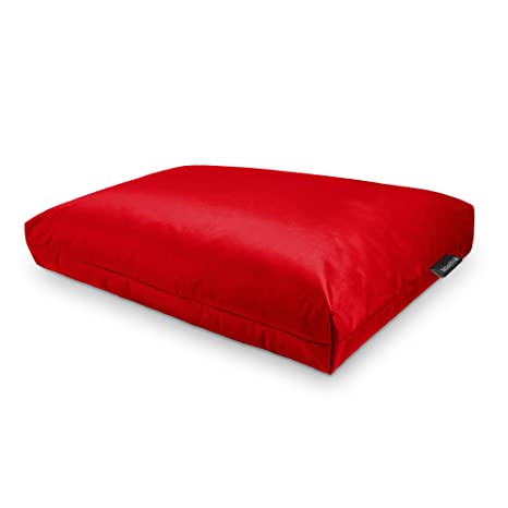 Happers Cojines para palets 120x43x25cm Naylim Impermeable Rojo