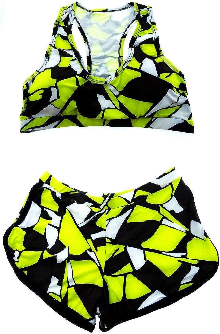 Due Pezzi Top e Pantaloncino Moda Mare Adatto a Adulti Donna /& Ragazza Inception Pro Infinite Costume da Bagno Bikini
