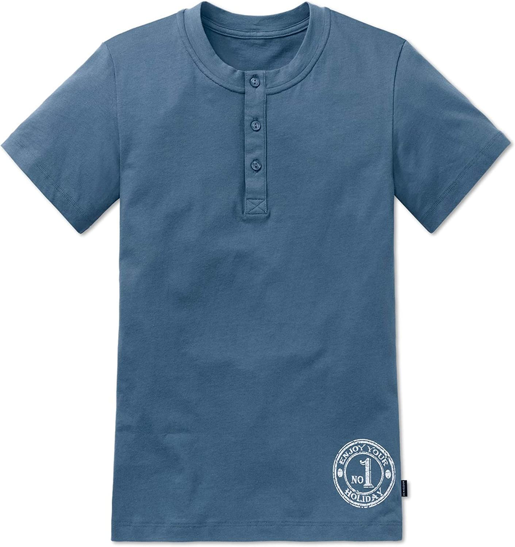 Schiesser Single-Jersey Childrens Sleep Shirt