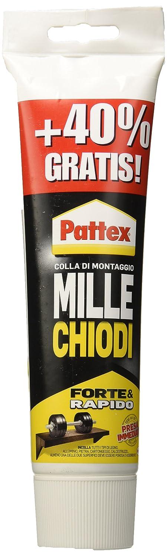 Pattex 10881 Millechiodi Tubo, Bianco, 250 gr Henkel