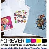 Amazon.com: Forever Laser Dark No-Cut A+B Paper 8.5