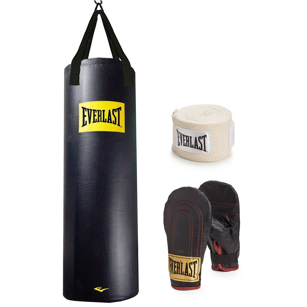 Everlast B00VR108U8 100-pound Nevatear従来ヘビーバッグ(ロゴ) ( 100lb Everlast/キット) W/キット) B00VR108U8, 名護市:d2338d9a --- capela.dominiotemporario.com