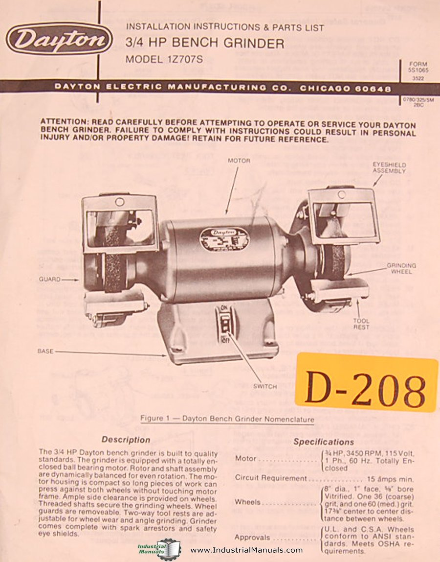 dayton bench grinder parts 10 ton rockwell axle parts diagram dayton 2lkr9 parts diagram #3