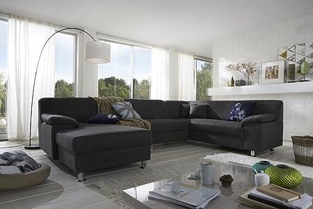 Dreams4home Polsterecke Laguna Sofa Wohnlandschaft Couch U Form