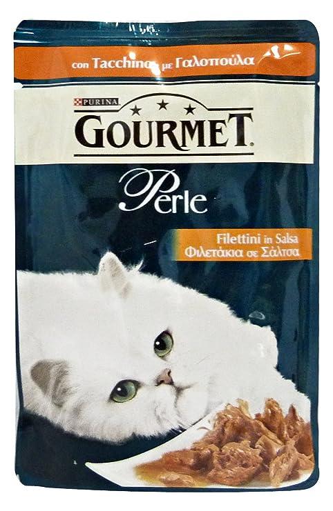 PERLAS Filete de pavo 85 gr. - Comida para gatos: Amazon.es ...