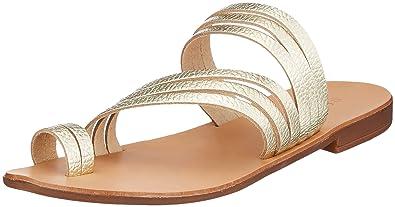 PIECES Damen Psmavis Leather Sandal Peeptoe