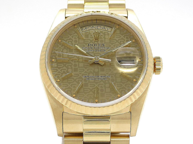 0cb50f5555 (ロレックス) (ロレックス) (ロレックス) ROLEX 腕時計 デイデイト コンピューター文字盤 18038(9番) K18YG 中古  B07D8VHVJL 114