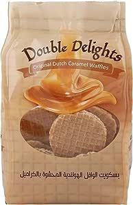 Double Delights Original Dutch Caramel Waffles , 200 gms