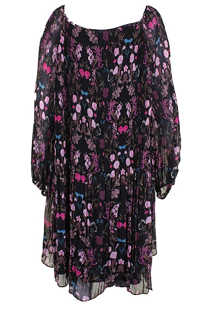 19932154665e6 INC International Concepts Plus Size Printed Cold-Shoulder Dress at Amazon  Women's Clothing store: