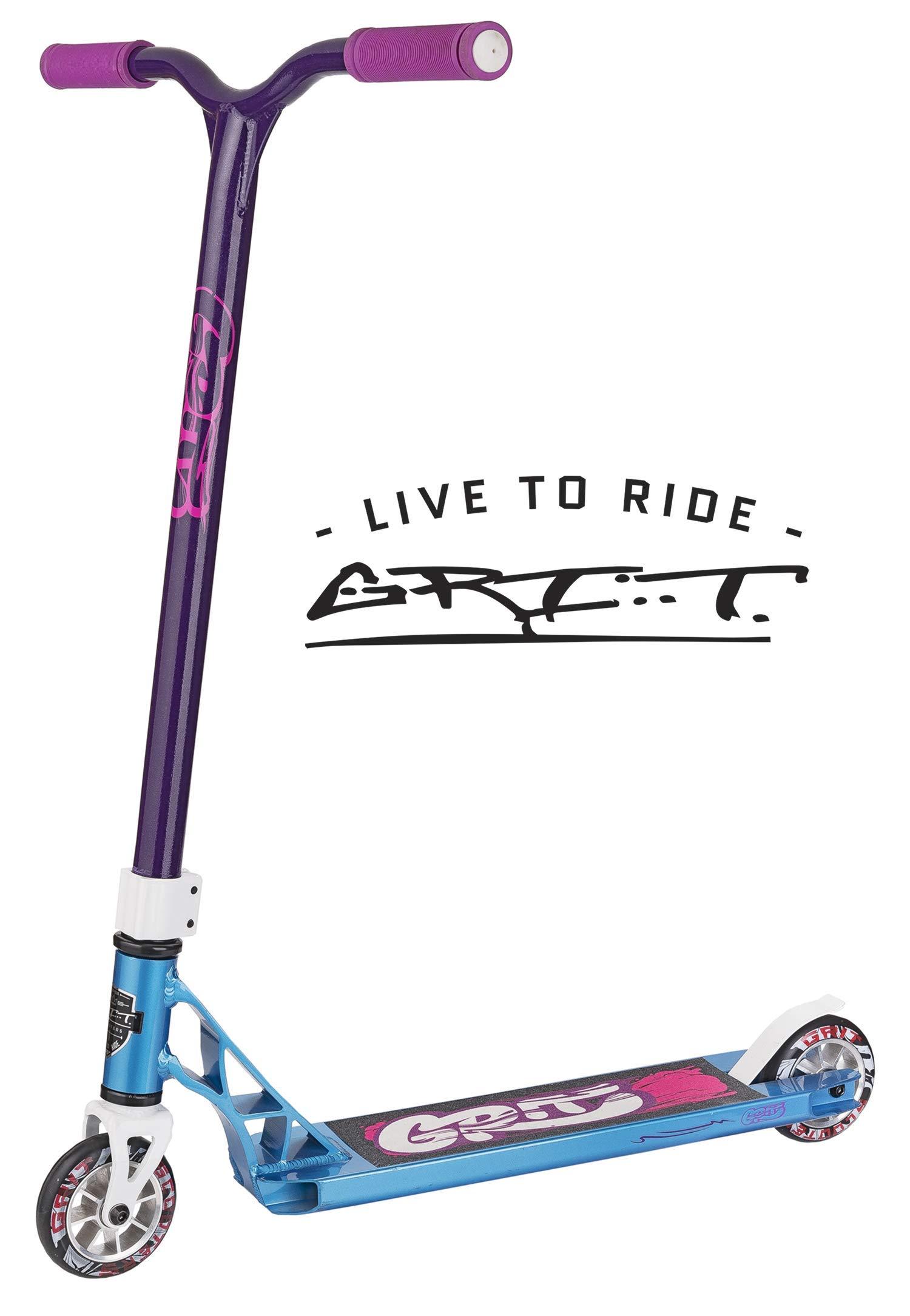 Grit Fluxx Pro Scooter (Satin Iced Blue/Purple)