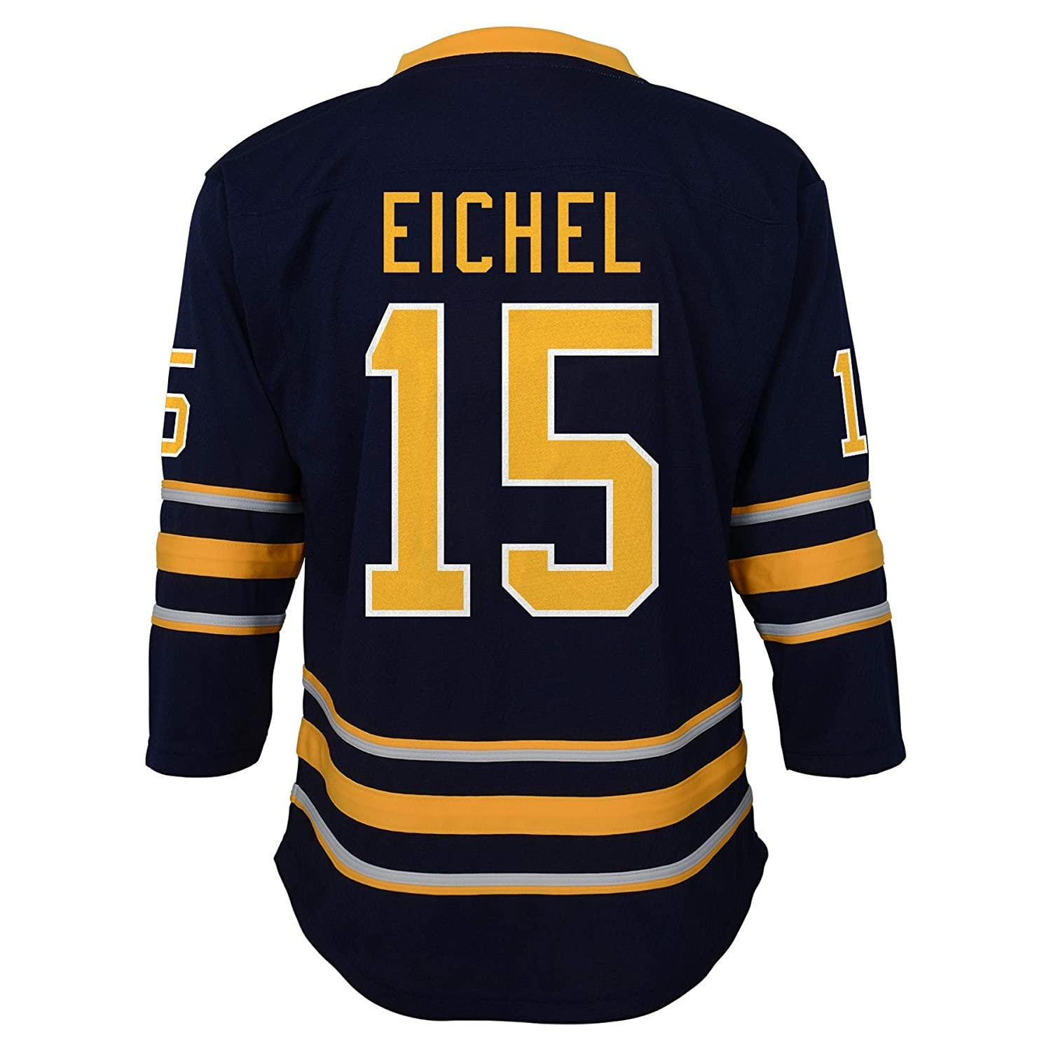 Outerstuff Youth Buffalo Sabres Jack Eichel Blue Replica Player Jersey