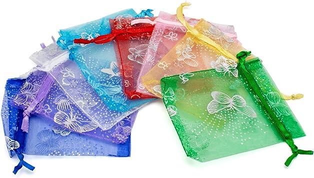 7,5 x 10 cm Lot de 24 sacs cadeau en velours env