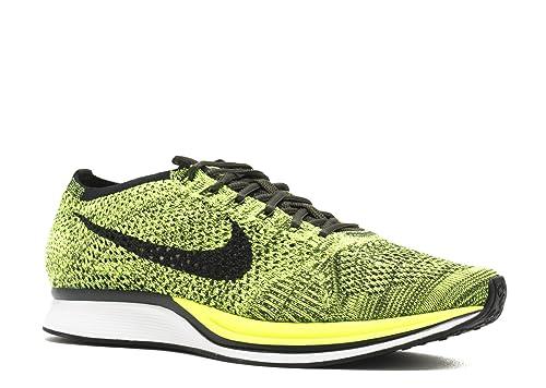 Amazon.com: Zapatillas para correr unisex Nike Flyknit Racer ...