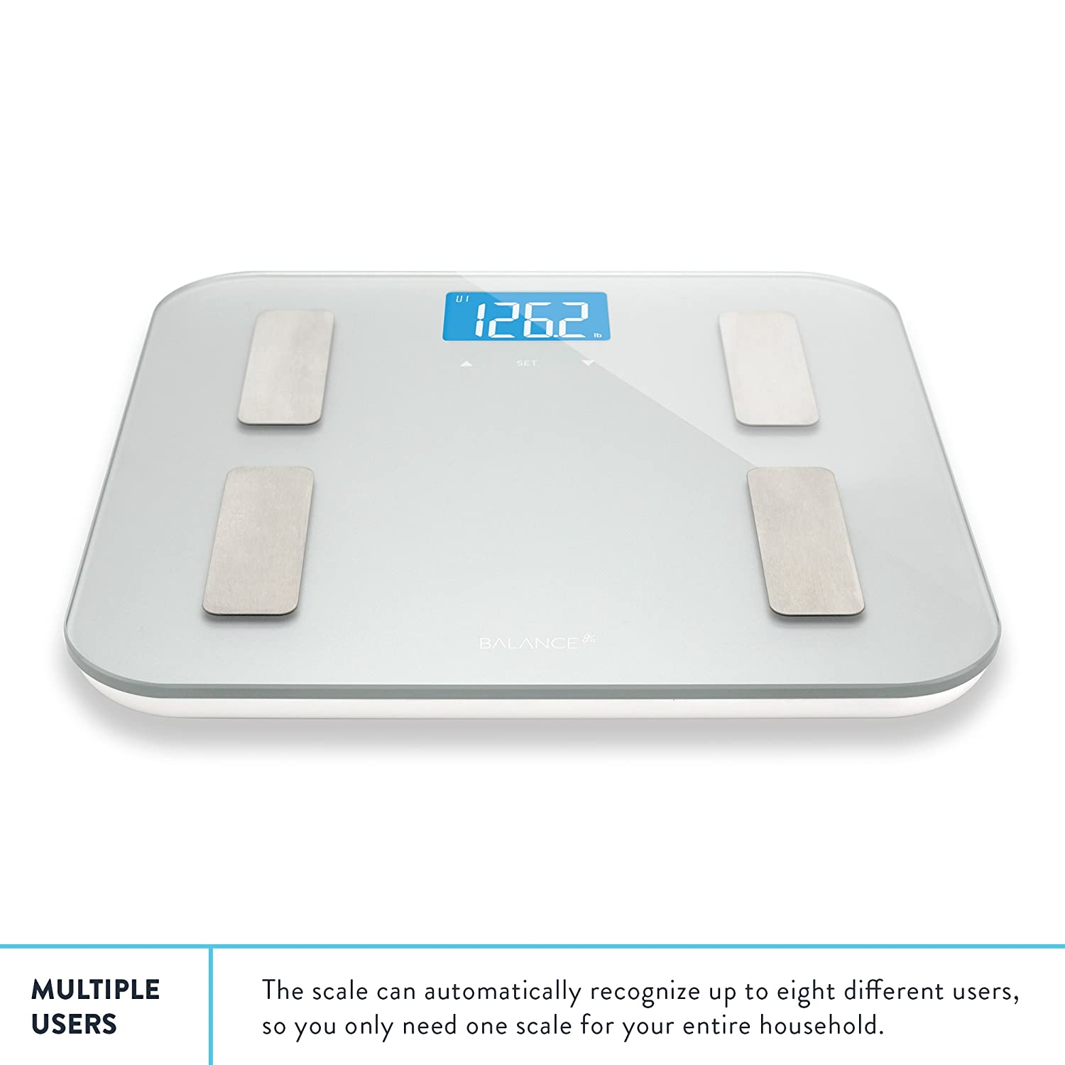 Bathroom scale accuracy consistency - Amazon Com Digital Body Fat Weight Scale By Balance Accurate Health Metrics Body Composition Weight Measurements Glass Top With Large Backlit