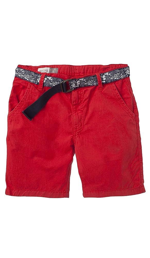 5880ee591 OFFCORSS Big Boys Flat-Front Twill Jeans Bermuda Shorts | Ropa de Niño  Grande
